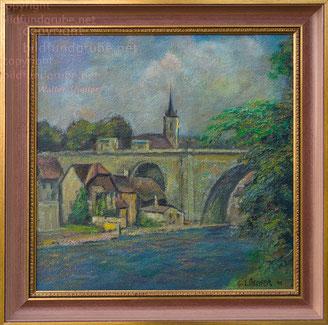 wB:  Nydeckbrücke 1941 / Berner Mattequartier