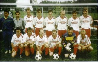 Der SC Wall Anfang der 90er Jahre...