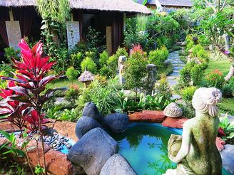 Hotelanlage in Ubud
