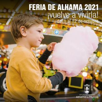 Feria de Alhama de Murcia Cartel y Programa