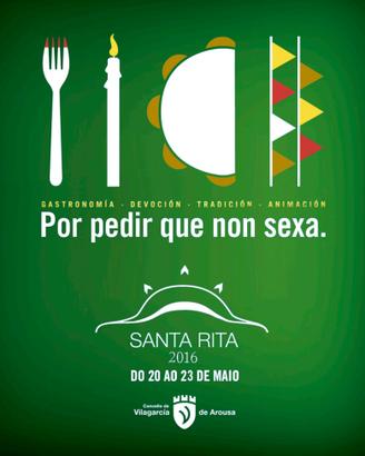 Fiestas en Vilagarcia de Arousa Santa Rita