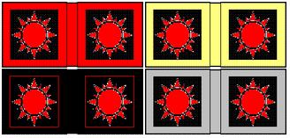 Flaggen für berittene Offiziere