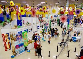 日ロのイベント・ビジネスサポート、ロシアで物産展を開催