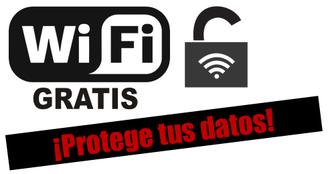 Wifi gratis - Protege tus datos