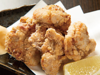 青森県産五穀味鶏の旨塩唐揚げ