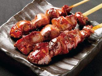 五穀味鶏 白レバー串