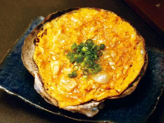 青森の郷土料理 貝焼き味噌