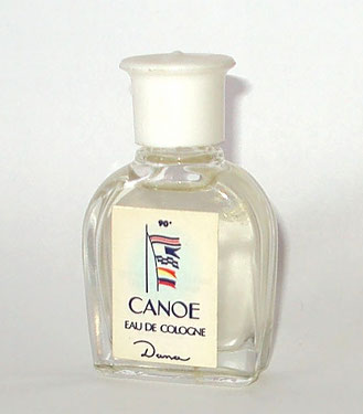 CANOE - EAU DE COLOGNE : FORME DE LA MINIATURE DIFFERENTE