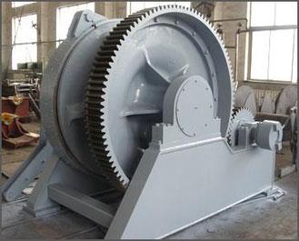 欧州向け舶用製品(Anchor windlass)