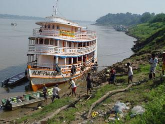 Amazonasfrachter Manaus Belen, Brasilien, Paititi-Tours