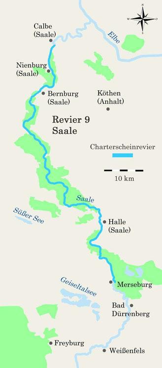 Charterscheinrevier Saale