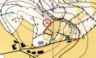 Erste OL-Karte des Seerückens; aufgenommen 1972 von Heiri Greminger. Thurgorienta.