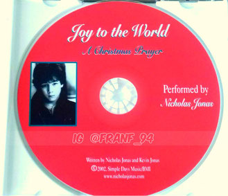 nicholas jonas joy to the world a christmas prayer single promo