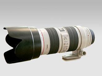 CANON 70/200 mm en 2.8
