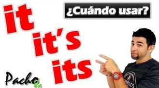 Uso de It - It's - Its