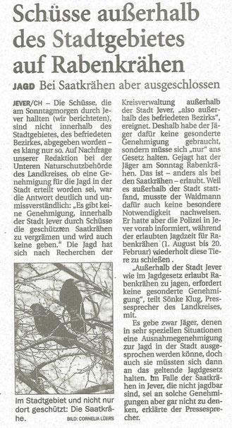 Jeversches Wochenblatt v. 4.8.2014