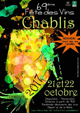 69ème fête des vins Chablis