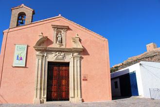Fachada principal Ermita de San Roque