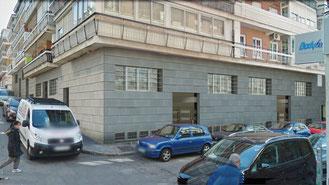 Montaje 3D de local en Madrid. Integrción entre fotografía y 3D