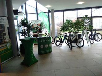 Unser Beratungsstand bei Vescon zum Theme e-Bike und Pedelec Leasing für Arbeitgeber und Arbeitnehmer in Worms
