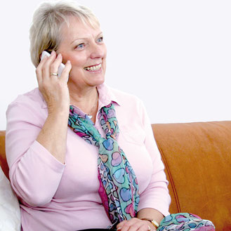 4sigma Patientenprogramm: regelmäßige Telefonkontakte