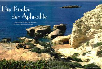"""Sea Caves"" bei Agios Georgios unweit der Lara-Bucht"