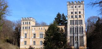 Das Kavaliershaus auf der Pfaueninsel in Berlin. Foto: Helga Karl