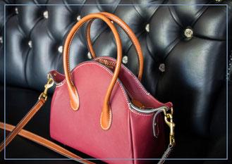 einzigartige Frauenhandtasche