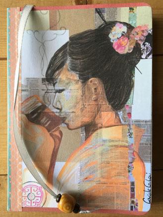 carole giboni artiste peintre bourgogne déco papeterie