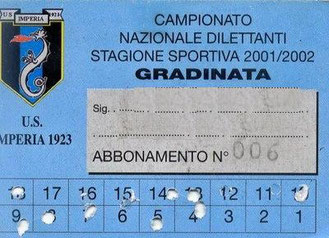 Stagione 2001-2002