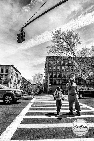 New-York, nyc, big apple, harlem, carcam, je shoote, black and white, noir et blanc, art, street photography, travel