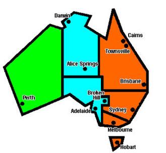 Uhrzeit Melbourne Australien Jetzt