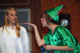 Peter Pan, Kindertheater Floh, theaterworks