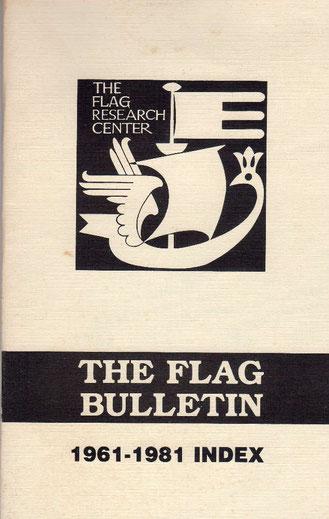 FRCが発行するジャーナル『The Flag Bulletin』の目録(1961-1981)