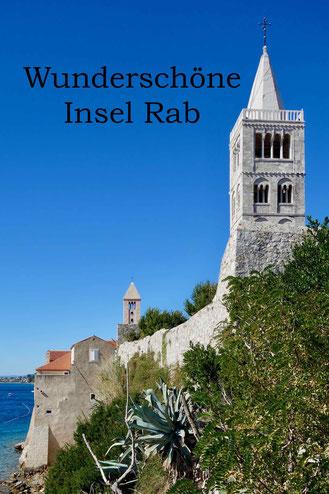 Insel Rab, Kroatien: Tipps für Campingplätze, Strände, Meer und Buchten.