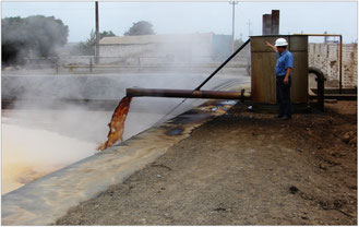 Pome, aguas residuales produccion de aceite de palma africana