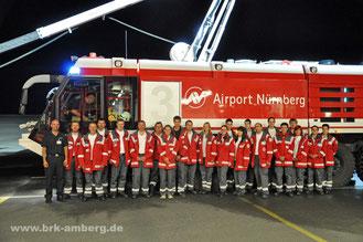 Besichtigung der Flughafen-Feuerwehr Nürnberg