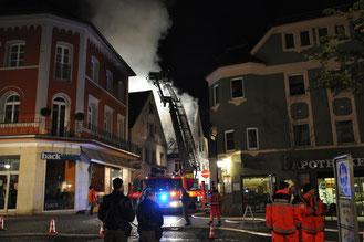 Großbrand Innenstadt 04.05.12