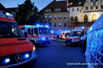 Rotkreuz-Nacht am Amberger Marktplatz