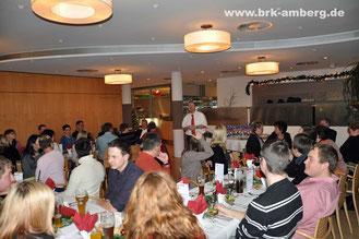 Weihnachtsfeier 2013 im ACC-Restaurant