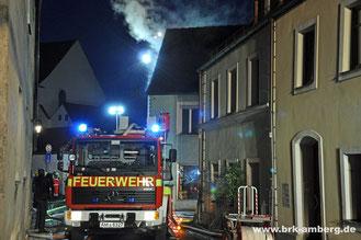 Brandeinsatz Kasernstraße