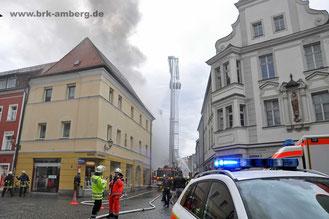 Brandeinsatz Untere-Nabburger-Straße