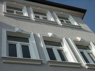 Fensterrahmen KL 3 mit Fensterbank KP 1