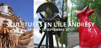 2017 - Sculptures en l'île, Andrésy - Roman Gorski