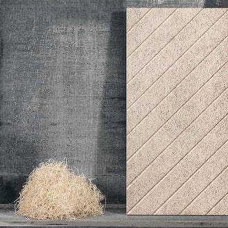 Baut liefert Acoustic Platten aus Holzwolle