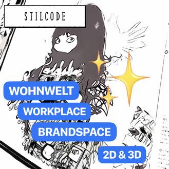 Stilcode für Produktwelten, Wohnwelten und Markenwelten