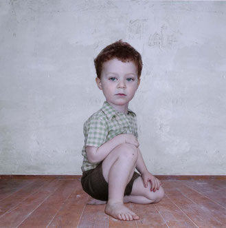 Estudio de niño #2. Loretta Lux. Museo Reina Sofía