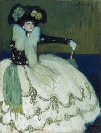 Mujerv en azul. Pablo Picasso. Museo Reina Sofía