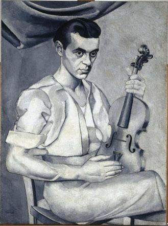 Retrato. Luis Fernandez. Museo Reina Sofía