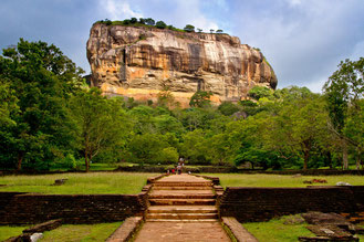 Sigiriya Löwenfelsen, Sri Lanka